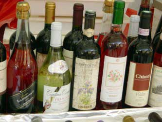 Table wines from Italy